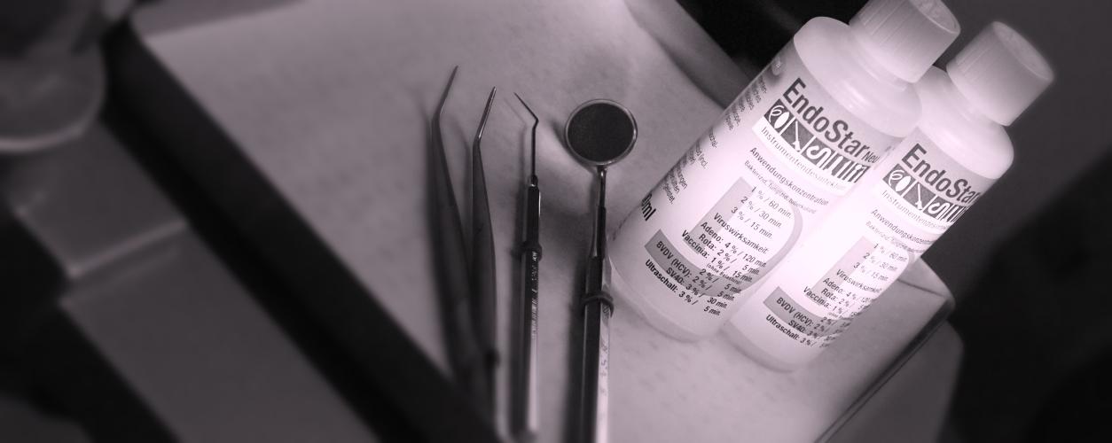 stérilisation pour une prophylaxie d'infection efficace