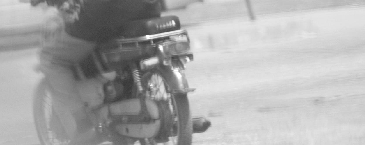 benin street scenario motorcycle pic carabito matthias hoelkeskamp featuring dr. deppe disinfectants
