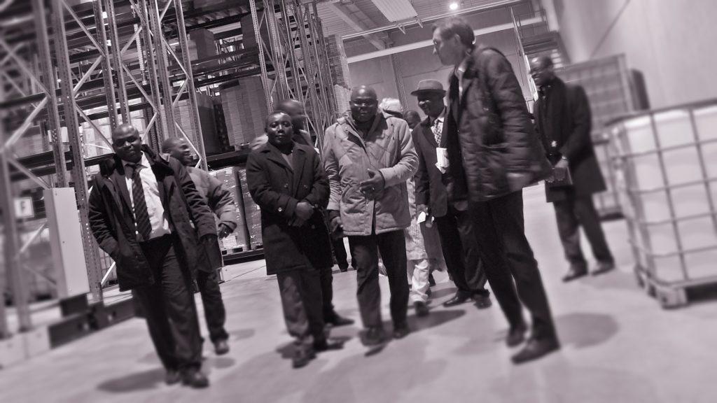 Visite de ministre Kokou et la delegation beninoise chez dr. deppe a Kempen - photo matthias hoelkeskamp pour takkanon